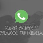 CLICK Y ENVIANOS TU WHATSAPP