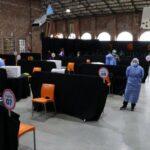 Este miércoles se otorgaron turnos reprogramados para la vacunación en la ciudad